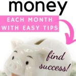 Wow! I finally found success in saving money. This post taught me how to save money each month with easy tips. No more paycheck to paycheck for me. Saving money is important for financial planning. I finally have extra cash in my budget. Find inspiration and fund your dreams. | Money Bliss