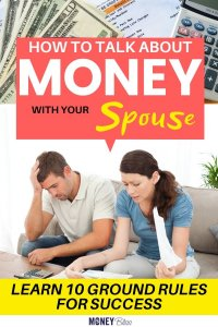 Learn how to talk money with your spouse. Use these tips to create ground rules, reach your money goals, create a budget, and find financial independence. Stop fighting about money in your marriage with a fresh beginning. Start to change your spending habits today. | Money Bliss