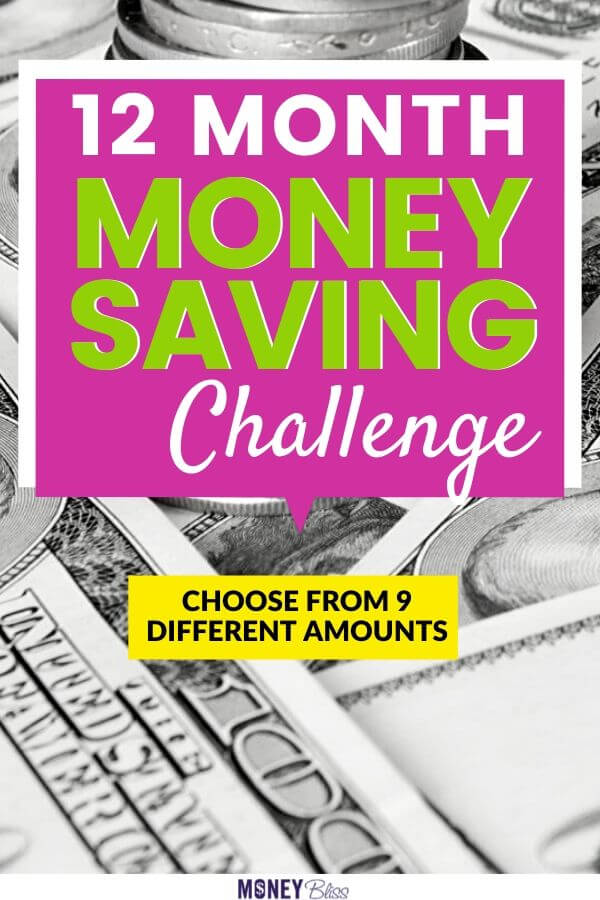 Use one of these monthly money saving challenges to save more money. Simple ideas to help save money. Over the course of 12 months, you can save $1000, $3000, $5000, $10000, $15000, $20000 or $25000. These money saving plans are based on your income and expenses. Don't compare your money journey to the next person. We all had to save our first $1000 before we could think of saving $25K. Find personal finance inspiration today! Track your savings in this free printable money saving chart. | Money Bliss