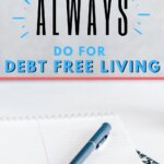 What does being debt free feel like? Read this post like I did. It was life changing and the debt free living habits were easy and simple ideas to implement. Now, I have found more ways to save money and have plans to pay off my debt in 6 months. You can pay off credit card debt quickly too!