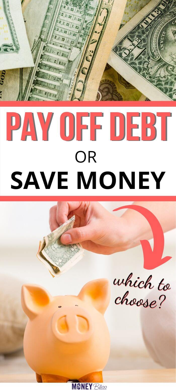 Finally, a clear answer to pay off debt or save money. This guide helped me choose which one is best. I had too much credit card debt and these examples showed me the best way to pay off debt and more money saving ways. Now, I am debt free and saving more money.