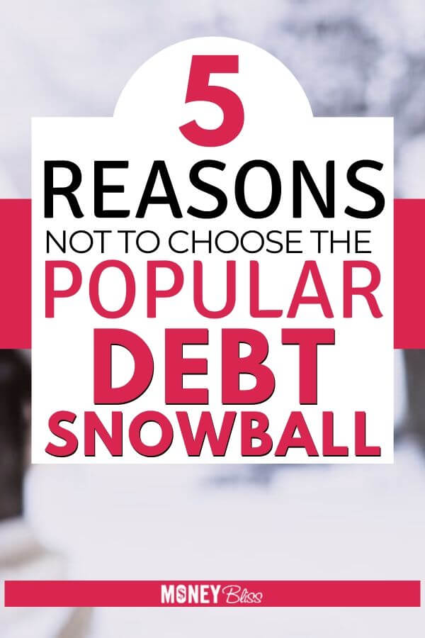 I am so happy I read this before choosing the debt snowball method to pay off my debt. Dave Ramsey made it famous, but this will make you question does the debt snowball really work? This post will go into detail on the debt snowball explained plus provide two examples.