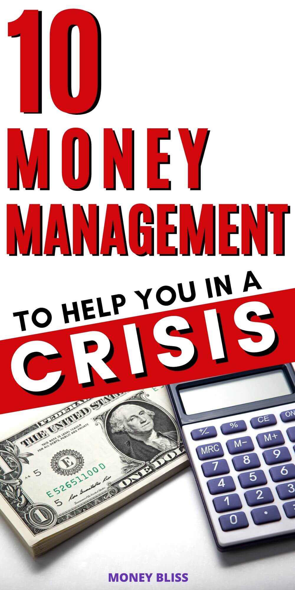 Read this post to get money management tips to help you in a crisis. The current outbreak and pandemic doesn't mean you have to suffer a personal financial crisis. Use the time to improve your budget and enjoy debt free living.