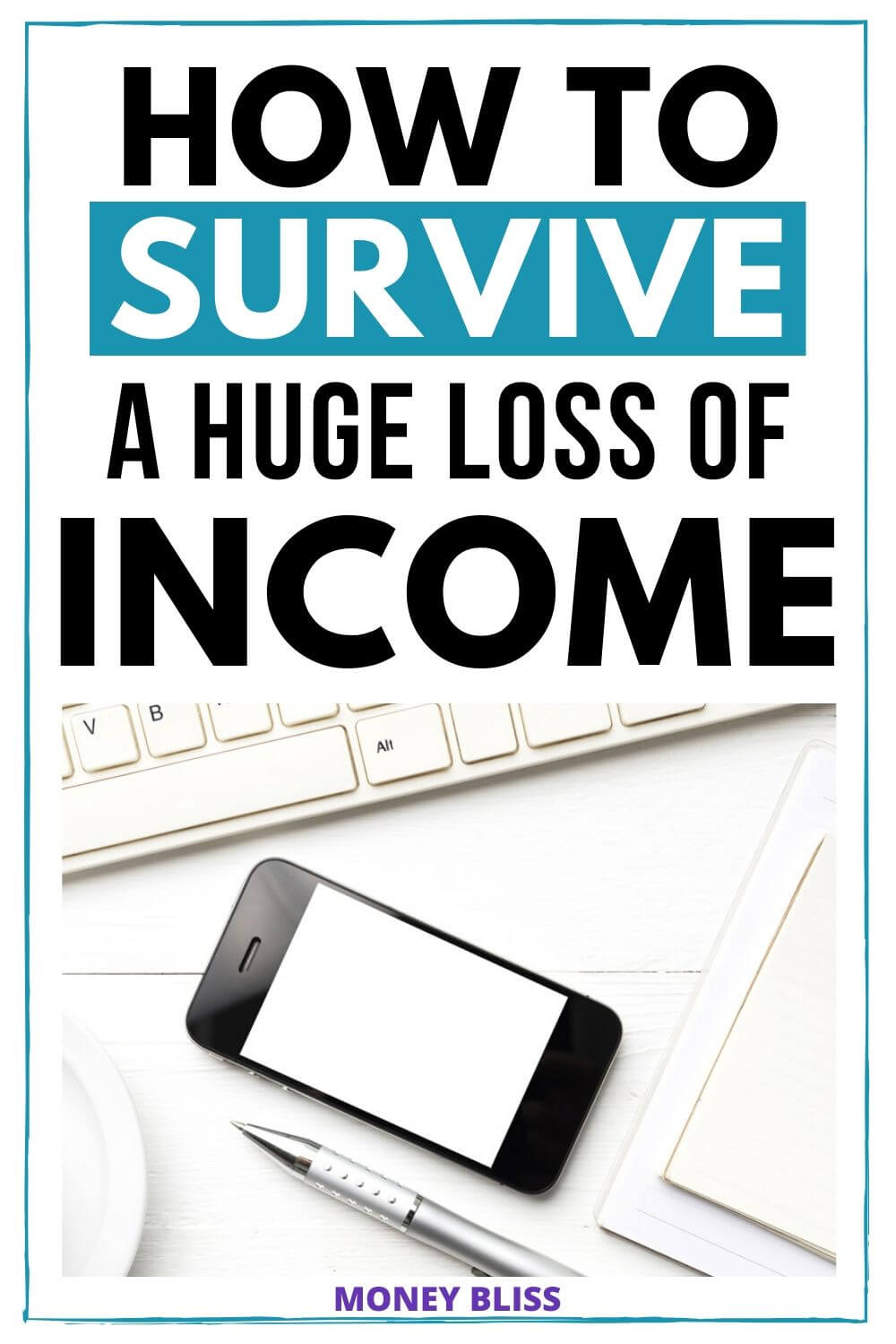 What to do with a loss of income? Did you lose your job? Learn how to survive a drop in income with these simple tips. A sudden loss of income doesn't have to ruin your personal finances.