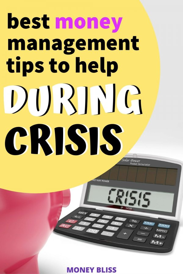 Don't let the current global crisis ruin your personal finances. Here are the best money management tips to help during a crisis. The world's outbreak doesn't mean a personal financial crisis. Improve your budget and change your life with this learning.
