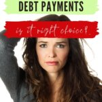 Focused on how to get out of debt and then life throws you a curveball. Should you pause debt payments because of economic crisis, job loss, or life change? Learn the real reasons to pause your debt snowball. Plus get tips to stack on track to becoming debt free. | Money Bliss