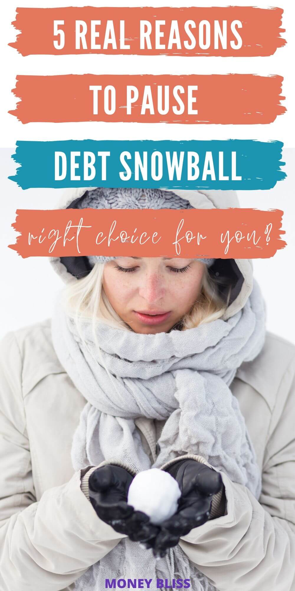 Debt snowball method is a great way to pay off debt quickly. However, is there a reason to pause or stop your debt snowball and postpone your debt free date? Read this post to make a wise personal finance decision. End goal is to get out of debt.