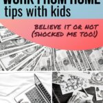 Ready or not… time to work from home with kids. You still need to make money. These parents give you their best parenting tips to work from home with kids and stay sane. Learn how to do it, see a sample schedule, and find plenty of activities.