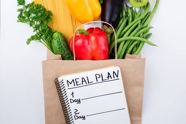 Picture of how meal planning is a frugal life hack