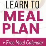 This is exactly how I stayed on a budget with food and groceries. Learning how to meal plan changed my finances. Get plenty of ideas to make menu planning easier. You must know how to meal plan for a month. Get your free printable and templates. These money saving tips will improve your budgeting.