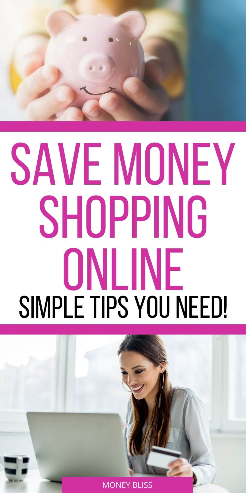 How can I save online? This post will explain ways to save money shopping online. These hacks are simple to implement and won't take a lot of time or money. For the frugal person, this is a natural extension on how to save money money. This is a simple way to improve your budget categories. #moneysavingtips #shopping
