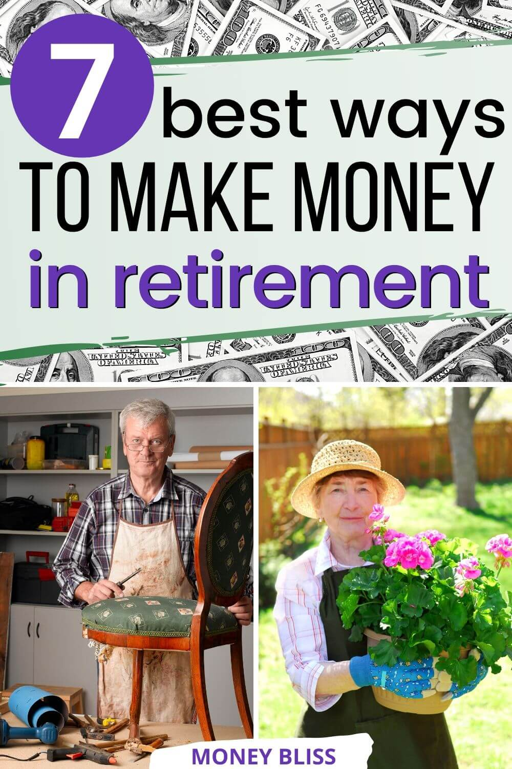 Did you not save money for retirement? Then, don't fret! This post will tell you how to make money in retirement. Learn which business is best after retirement. Seniors making money online and can work from home. Being retired doesn't mean that you can't make income. Learn how you can still earn extra cash after retirement.