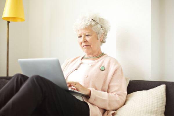 seniors making money online