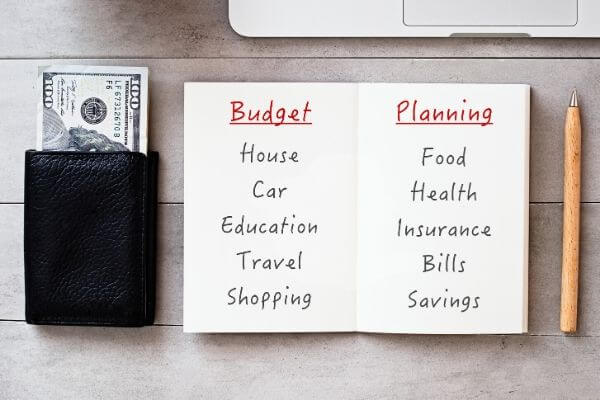 making a bare bones budget