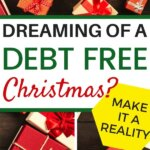 Learn exactly how to have a debt free Christmas. You will love this way of debt free living. Use these money saving tips to make sure you stay on your Christmas budget. Remember to save money for gifts, decorations, food, and DIY crafts.