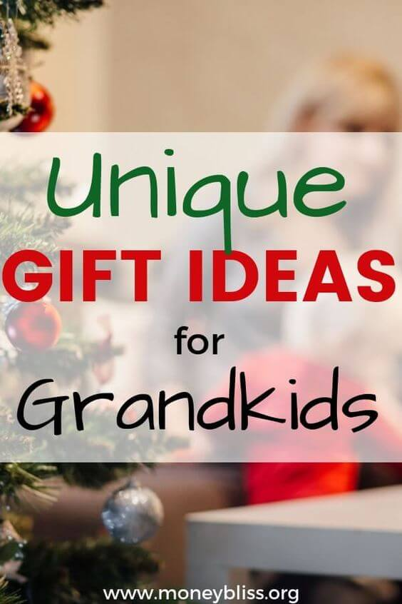 Searching the perfect present for grandkids. Looking for alternative to gifts. Think outside the box and find gift experiences for kids. These are the best unique gift ideas for grandkids. Gift Giving that is more than toys. Great ideas for grandkids. Present ideas from grandparents.