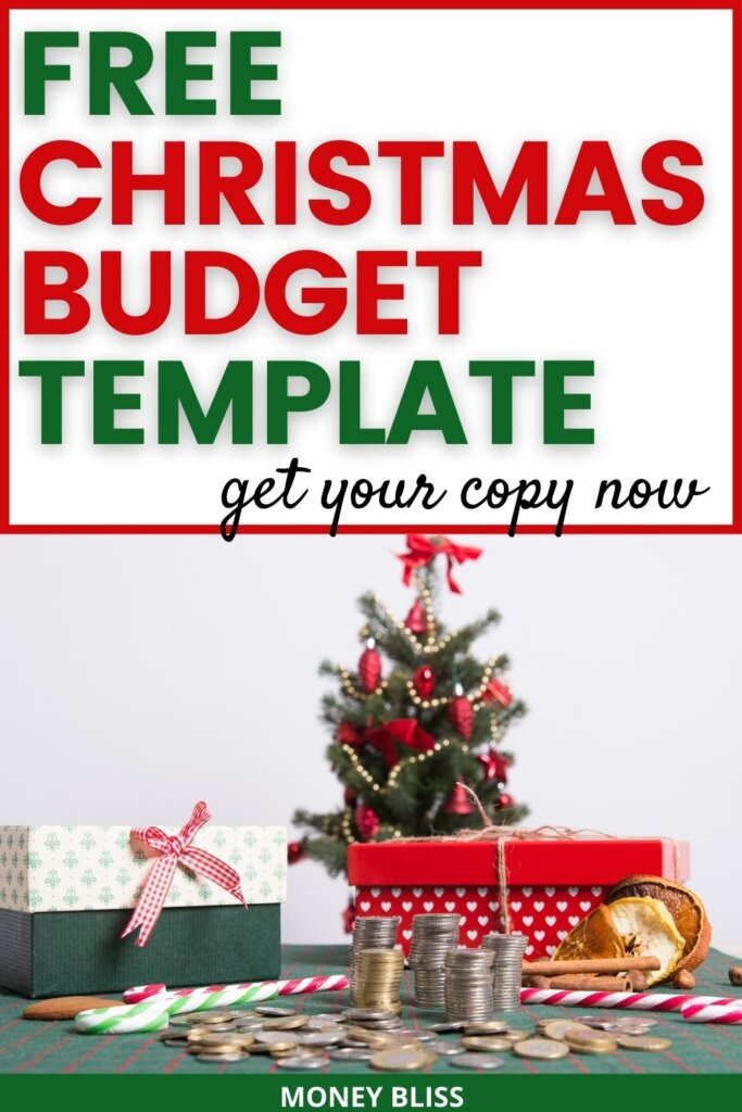 Christmas budget printables from Money Bliss. These Christmas budgeting worksheets in PDF, spreadsheet in both google sheets and excel will make sure you have a debt free Christmas season. They are free templates to help with my holiday budget planning. Plan your Christmas budget and gifts with these Christmas tracker! Download your copy today!