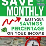 You need these tips on how to budget your paycheck from Money Bliss. Learn the recommended saving percentages based on your income. Learn how much to save monthly. Download your free printable and spreadsheet to help your budgeting. Start saving money monthly with these money saving hacks. Click to go from living paycheck to paycheck to wealth and financial freedom. | Money Bliss