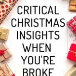 Are you ready for a frugal Christmas by Money Bliss? Plenty of awesome gift ideas when you're broke. Find the best frugal living tips to find thoughtful gifts don't have to break the budget. Your kids will love the traditions. Use these money saving tips to help with gifts for kids, decorations, dinner, and diy ideas, too! Your Christmas will be magical when you download our Christmas budget worksheets.