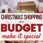 Learn how to Christmas shop on a budget. You need these crazy simple money saving tips for Christmas gifts and to stay on budget. When you are living paycheck to paycheck, you need have Christmas on a tight budget. Stay debt free and still create magical presents, meals, decoration, and DIY crafts. Download free printable.