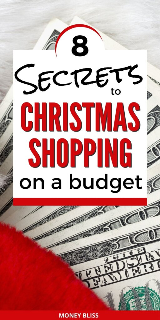 Learn the secrets to Christmas shopping on a budget. Find the perfect gift with these money saving ideas. You can save money and give great presents. Save money on your Christmas gift shopping. These frugal living tips are perfect for your debt free living. Download our free printable Christmas budget tracker.