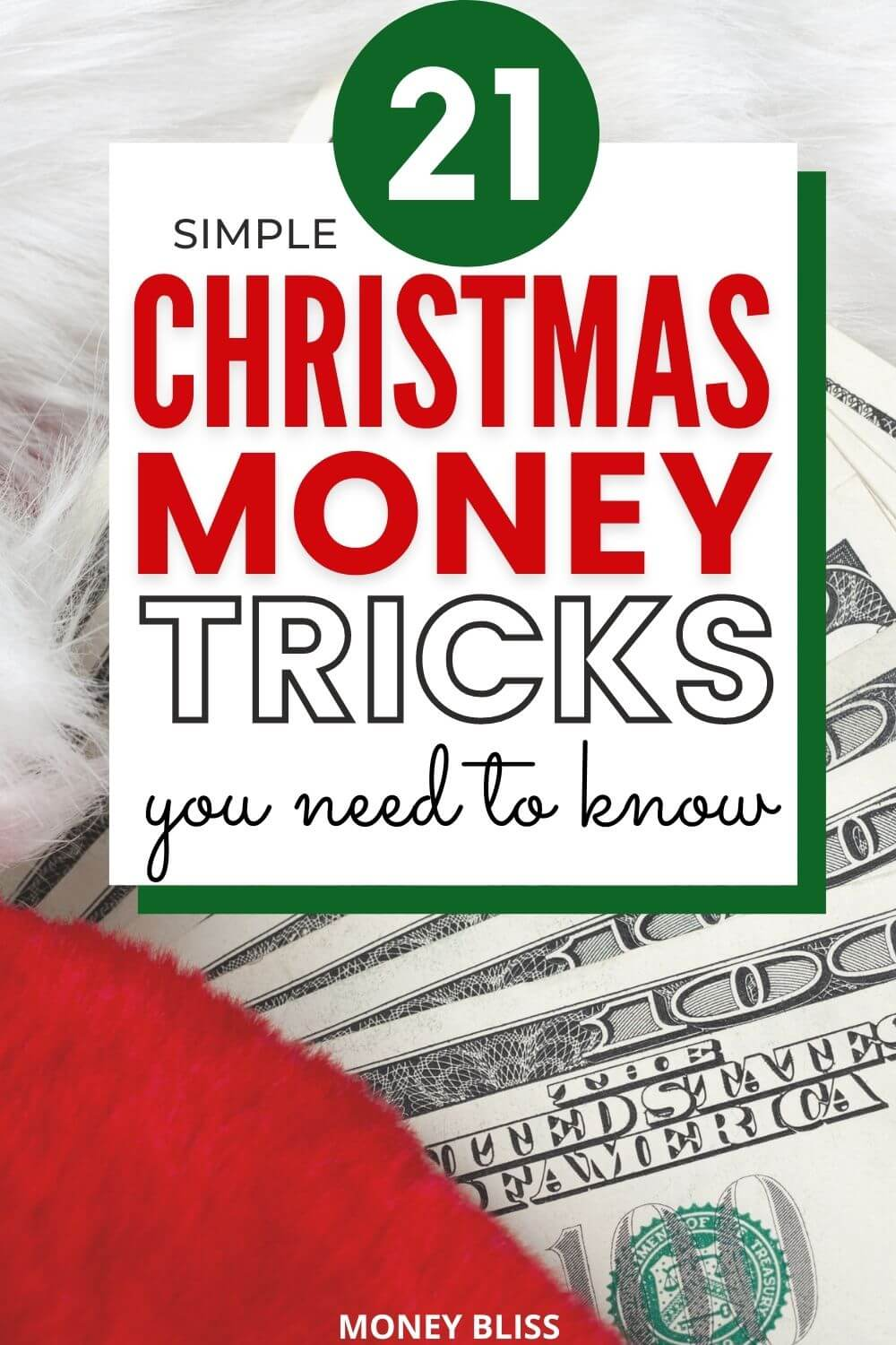 Here are the Christmas money saving tricks you need this season. Learn to plan and stick to your Christmas budget, save money with a Christmas money saving challenge, make money during the Christmas season! The best part is saving money on gift giving and Christmas shopping.