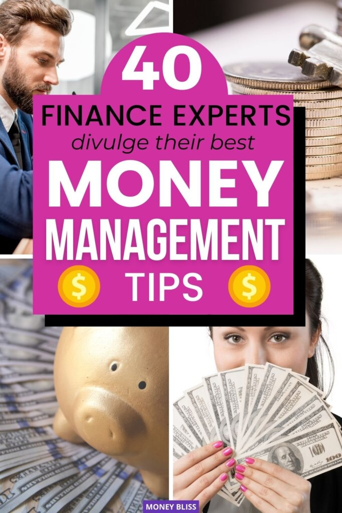 You need these money management tips from Money Bliss and other financial experts. By investing time in your personal finance situation, you will pay off debt, budget and start building wealth. Learning these simple money management ideas from top experts will change your money mindset. Click on this post to change your money life forever. | Money Bliss