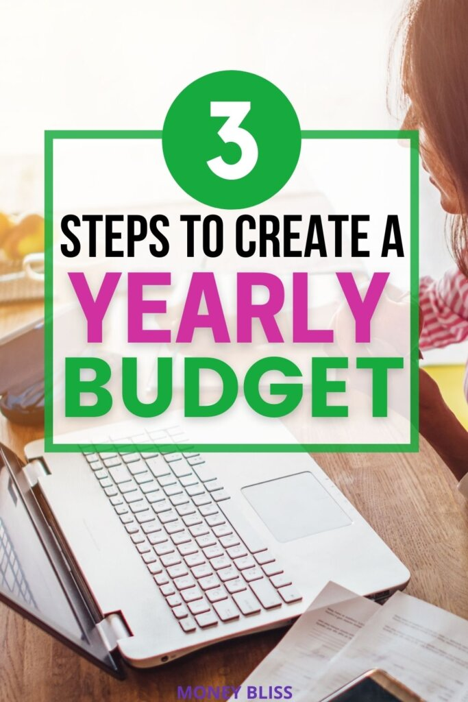 Learn how to make a yearly budget. Use our personal budget template. By making a plan fo your money, you are prioritizing saving money and paying off debt.