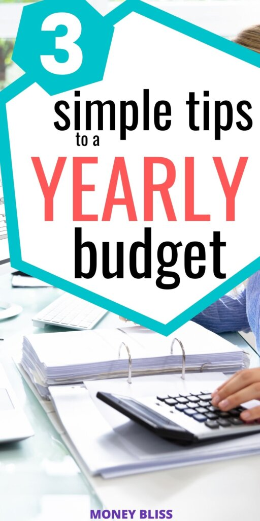 You need to read these simple tips from Money Bliss on how to make a yearly budget. Use our free budgeting template to help set you up. Money management has never been so easy.