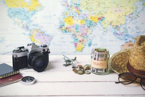 Picture of how to save money for travel