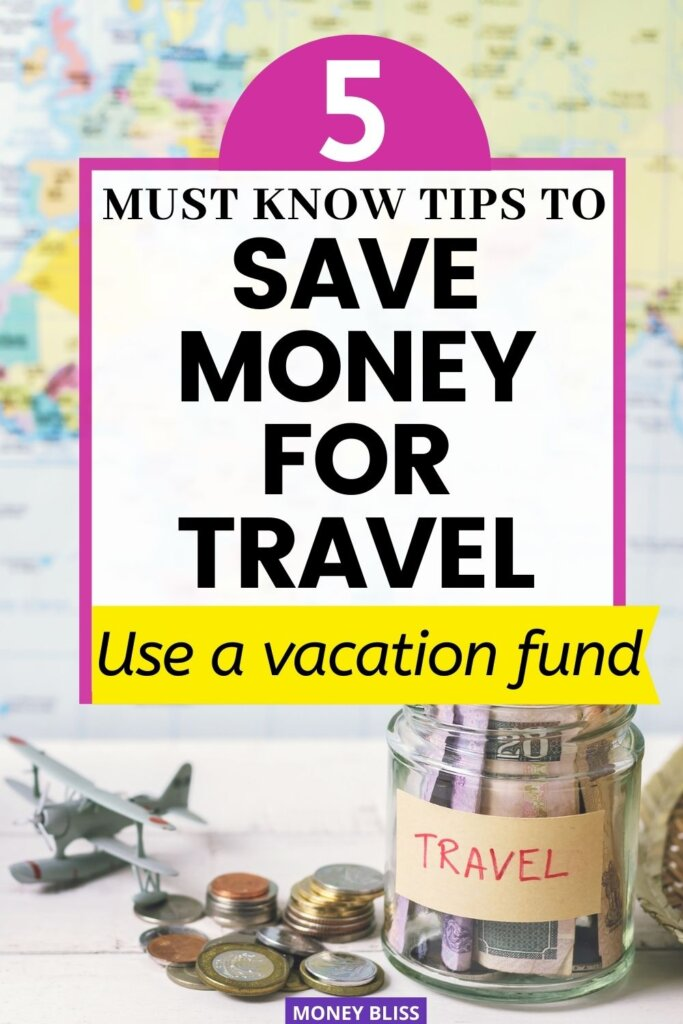 Are you ready to learn how to save money for travel. Simply put, a vacation fund will put you ahead with your savings. This is how you travel each year.