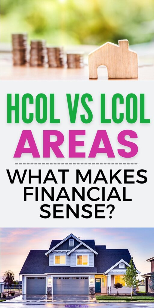 Picture asking the questions what makes financial sense - HCOL vs LCOL cities? Or is a MCOL area a better choice.
