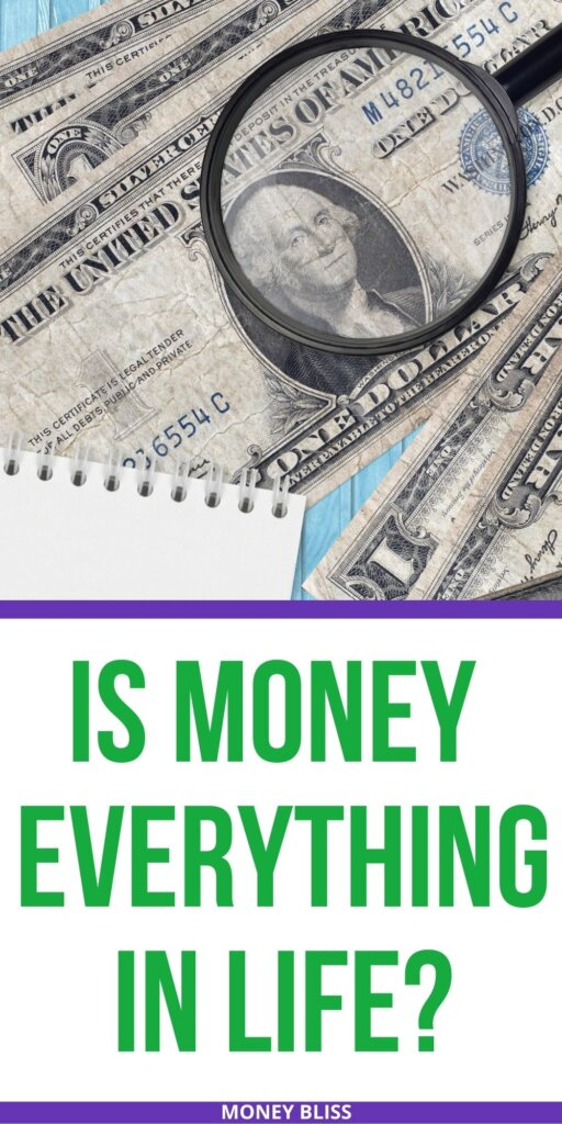 Is money everything in life. Why money is every thing. Learn the pros and cons to the love of money. The simple answer may surprise you.