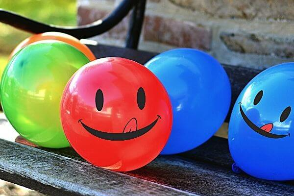 Picture of balloons make you wonder the types of fun 30 day challenges