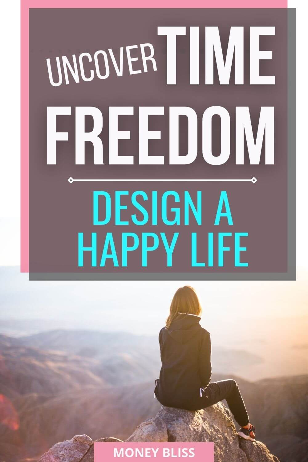 Reading this post from Money Bliss on time freedom will deeply impact your life. Focus on the activities you want and start to design the life you want to live!
